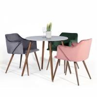 כיסא מעוצב אולדרידג מבית HOMAX שלושה צבעים לבחירה.