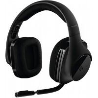 אוזניות גיימרים אלחוטיות Logitech DTS 7.1 Surround לוגיטק דגם G533