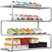 רהיטי דמיר מעמד זיגזג 4 שלבים לאחסון נעליים