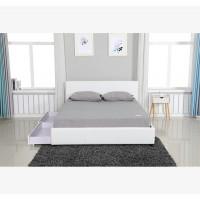 מיטה זוגית דמוי עור איכותי דגם אדל