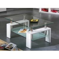 שולחן סלון מבית GAROX דגם Antonio צבע לבן