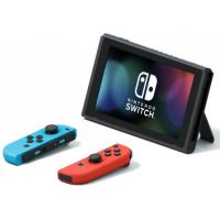 קונסולת משחק Nintendo Switch 32GB V2 עם שלטי Neon