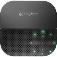 רמקול דיבורית לסלולרי P710E Logitech עם חיבור USB וקישוריות Bluetooth,