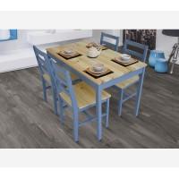 פינת אוכל מעץ מלא דגם LISA גארוקס רהיטים.