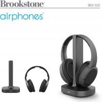 אוזניות אלחוטיות בטכנולוגיית RF לטלוויזיה מבית Brookstone דגם BKH-550