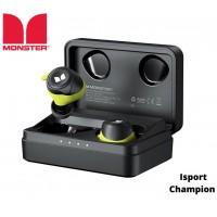 אוזניות סטריאו MONSTER - ISPORT CHAAMPION TWS