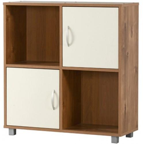 כוורת 4 תאים 2 דלתות שילוב צבע שיטה וקרם מבית רהיטי יראון דגם 618