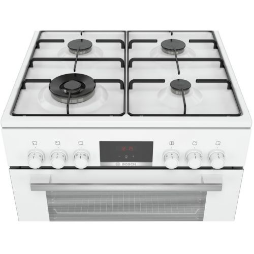 תנור משולב כיריים Bosch HXR39IH20Y בוש צבע לבן