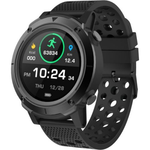 שעון חכם / ספורט FitPro G2 בעל GPS מובנה - צבע שחור