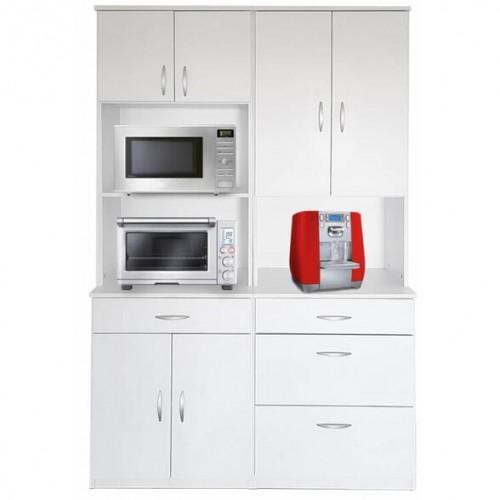 רהיטי יראון - ארון גדול משולב למטבח לאחסון דגם: 4008
