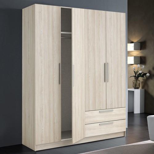 """ארון ברוחב 176 ס""""מ 4 דלתות GLORY גרוקס רהיטים"""