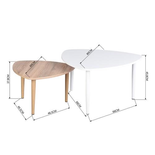 HOMAX דגם: אגאתה מידות השולחן